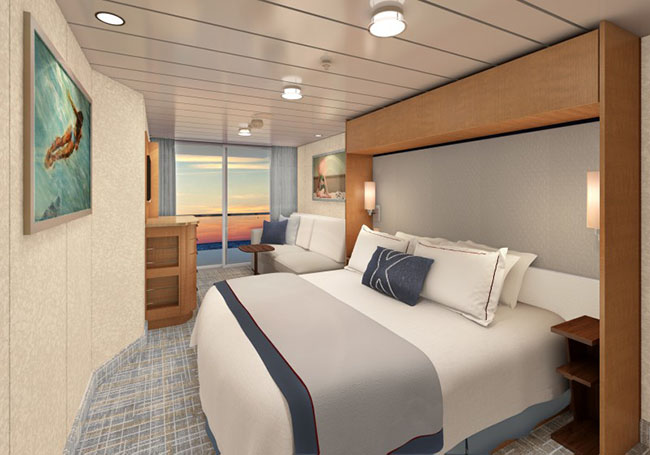 Refreshed Staterooms on Celebrity Equinox