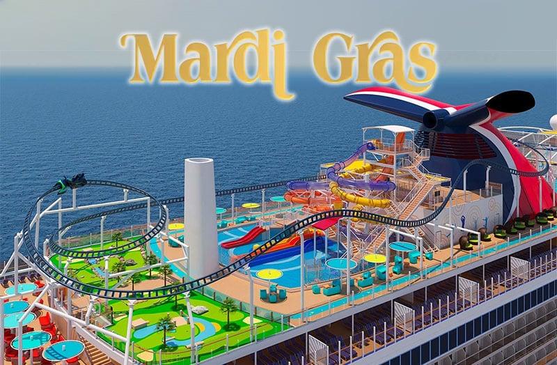 Carnival Mardi Gras Carnival Enters The Big Ship Games Cruisehabit