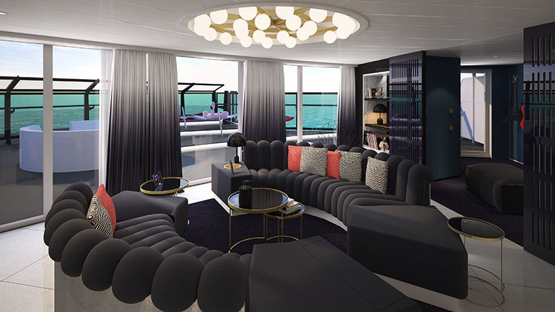 Massive Suite on Virgin Voyages' Scarlet Lady