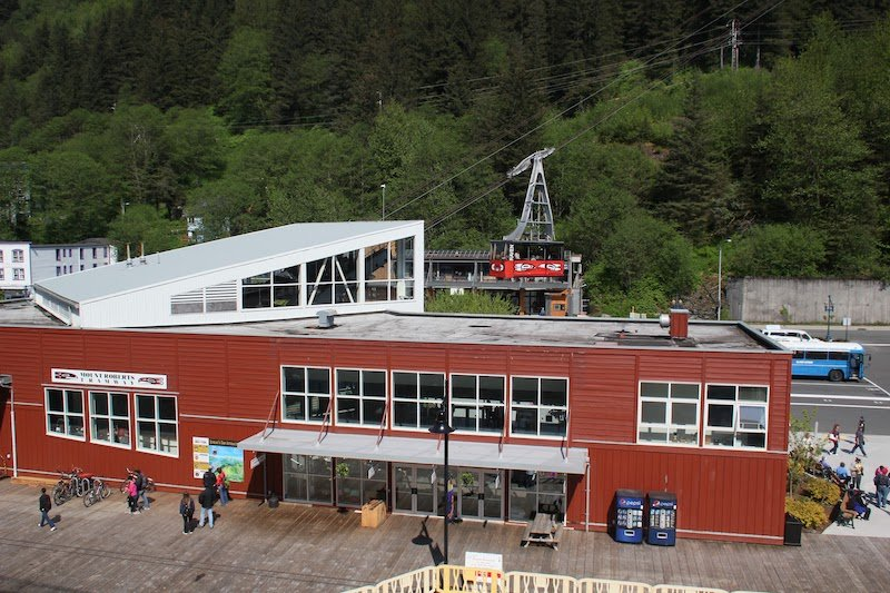 The Mount Roberts Tramway Station - as Seen From Oceania Regatta