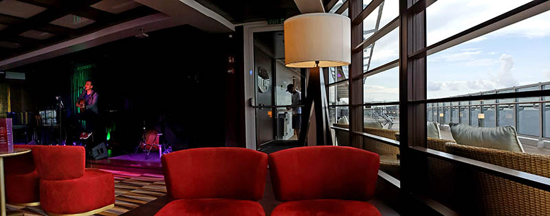 Seaiew Lounge Inside and Out on MSC Seaside