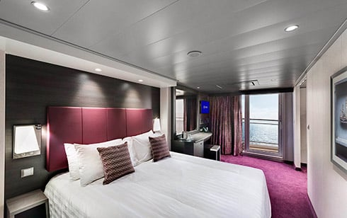 a verandah stateroom on an MSC ship