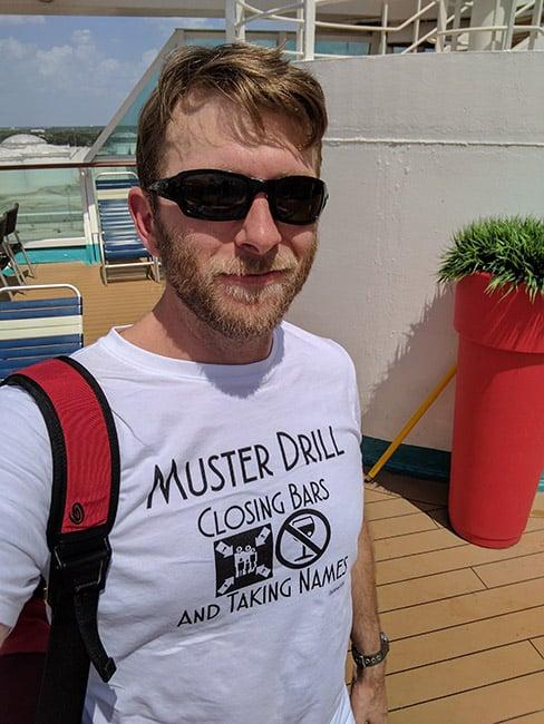 Muster drill shirt from CruiseHabit.com