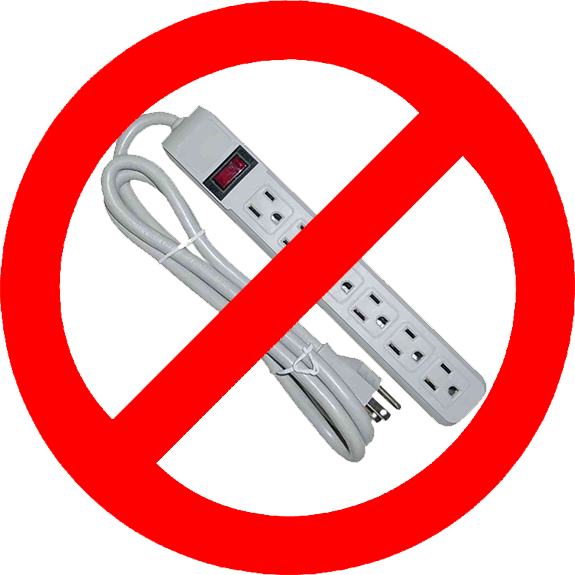 Power Strips - Why they're not allowed on ships and how to