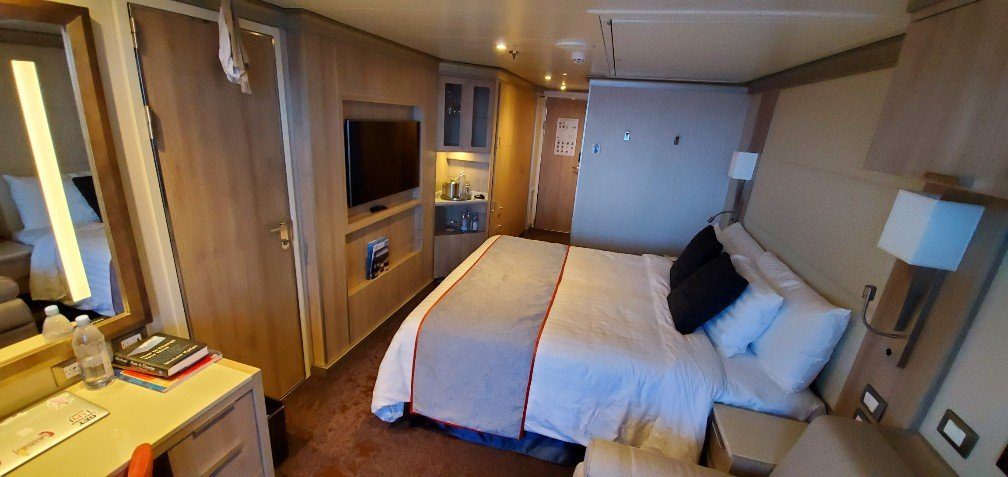Obstructed Verandah Stateroom on Nieuw Statendam