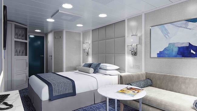 New Stateroom Design for Oceania's R-Class Ships