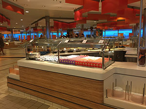Pceanview Cafe on Celebrity Reflection