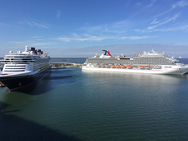 Carnival Magic & Disney Dream - Not at all confusing.
