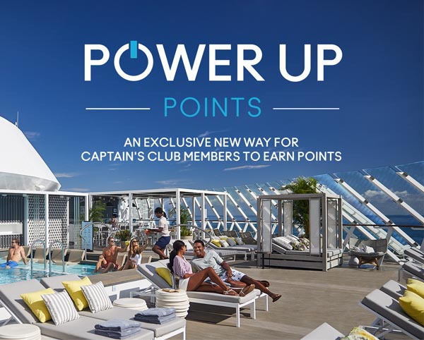 Power Up Points - A New Way to Earn Celebrity Captain's Club Points