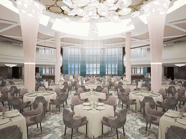 Main Dining Room after Celebrity Revolution