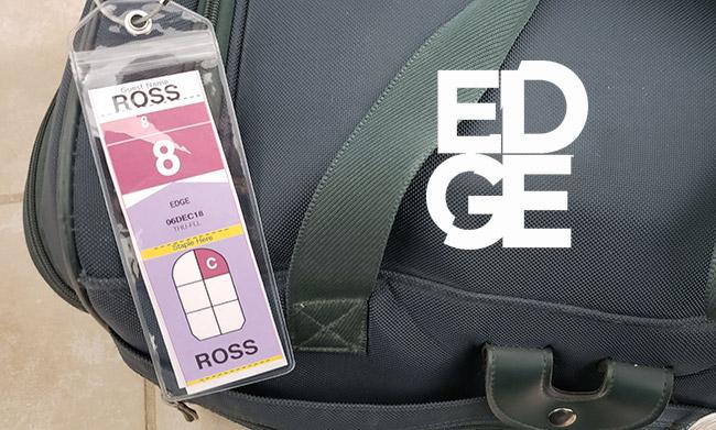 Celebrity Edge Luggage Tag