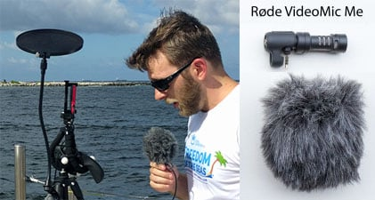 rode videomic me setup
