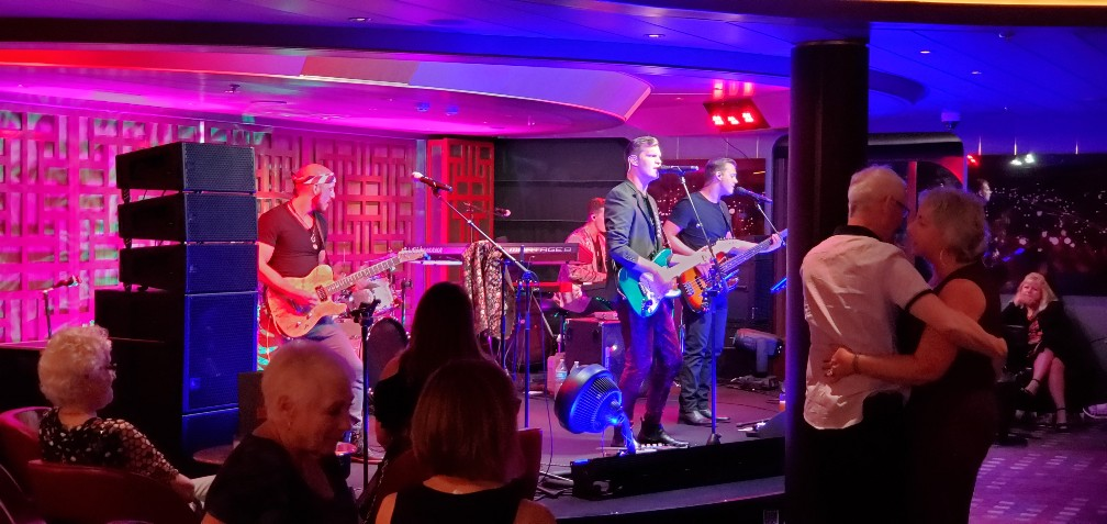 Rolling Stone Rock Room on Nieuw Statendam