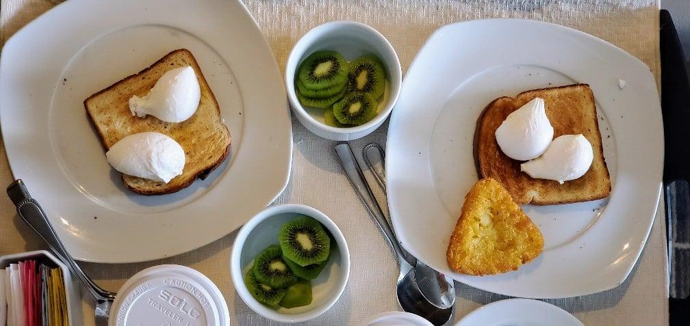 Room Service Breakfast on Celebrity Equinox