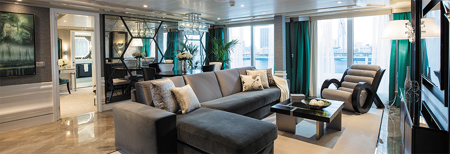 the suite life is nice, especially on Regent Seven Seas