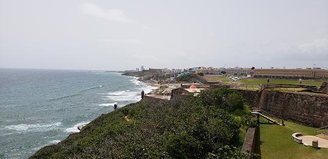 View of San Juan's Coast from El Morro