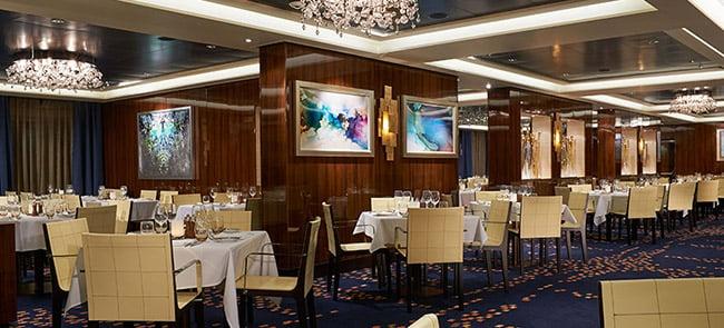 Savor Dining Room on Norwegian Escape