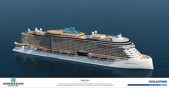 Norwegian Cruise Line's Leonardo Project