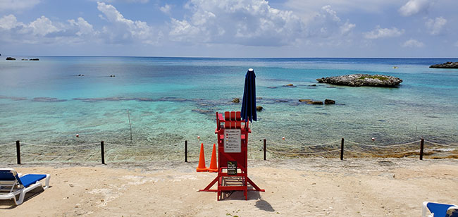 Pretty Area for Easy Snorkeling at Great Stirrup Cay