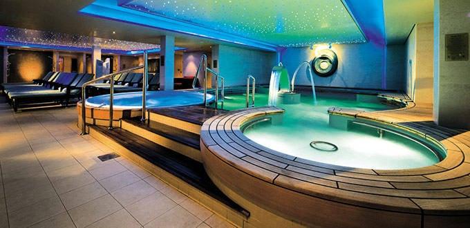 Thermal suite in Norwegian Epic's Mandara Spa