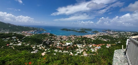 St Thomas from Above