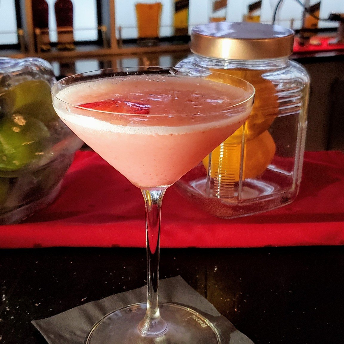 Strawberry Fields - A Signature Cocktail at the World Class Bar on Celebrity