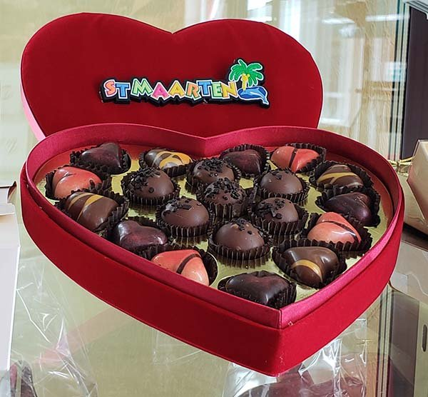 Belgian Chocolate Box Fudge House Sint Maarten