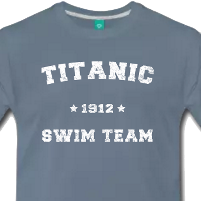 Titanic Swim Team shirt - Cruise t-shirt