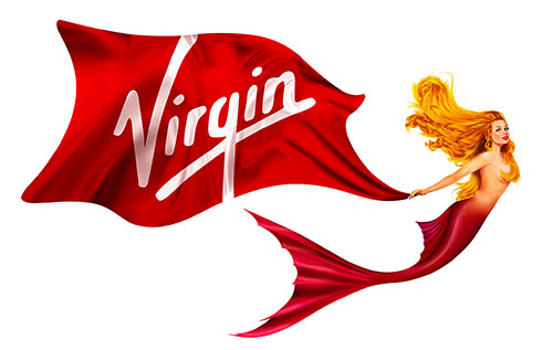 The Mermaid Adorning Virgin Voyages 1st Ship