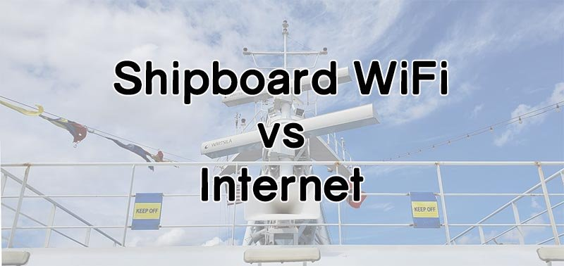 The Difference Between Cruise Ship WiFi and Internet