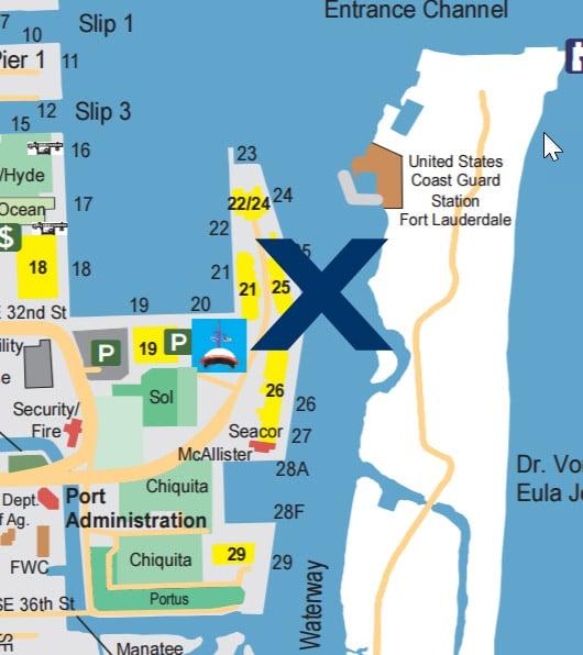 port everglades terminal 25 - celebrity cruises