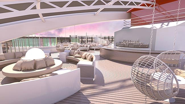 Richard's Rooftop on Virgin Voyages