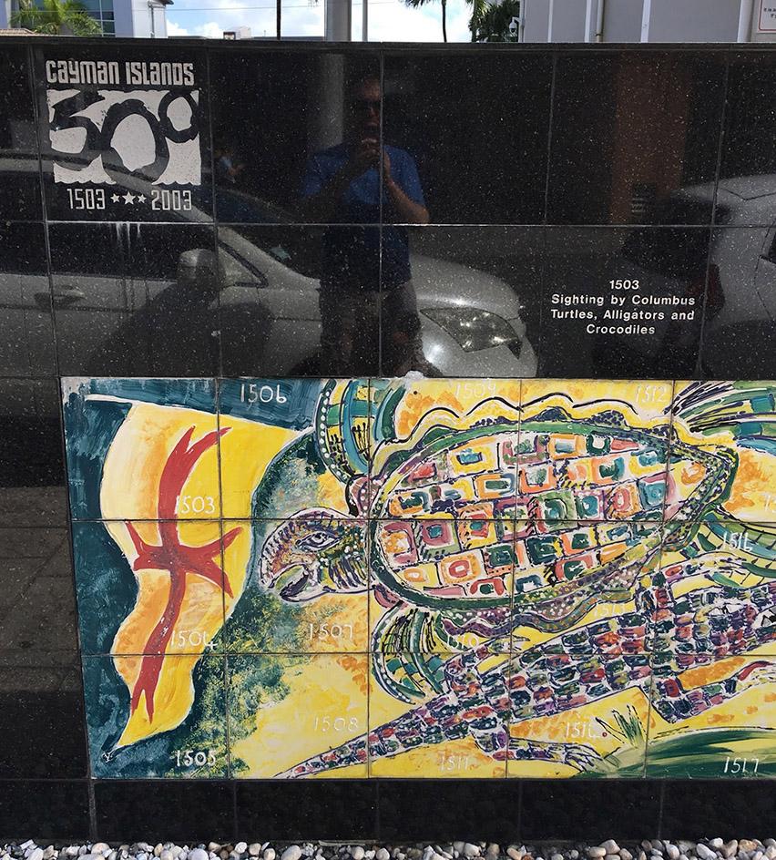 Grand Cayman History Mural