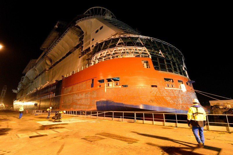 Celebrity Edge, STX Shipyard, Saint Nazaire, France