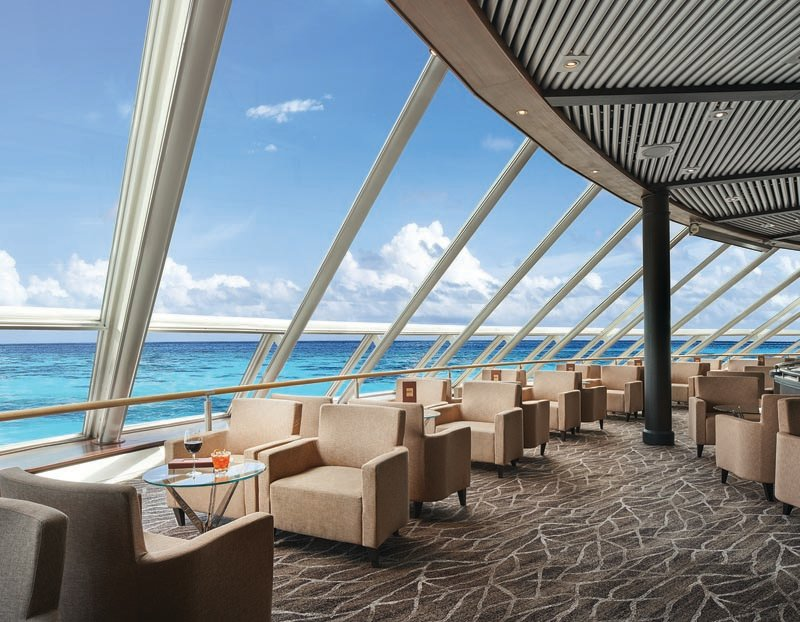 Spinnaker Lounge on NCL Sky